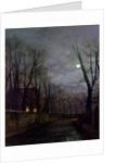 Moonlit Street Scene, 1882 by John Atkinson Grimshaw