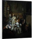 The Artist and his Family, c.1708 by Francois de Troy