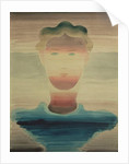 Striped Portrait, 1932 by Oskar Schlemmer