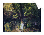 Gramercy Park by George Wesley Bellows