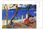 Seashore, Martinique Island, 1887 by Paul Gauguin