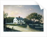 The artist's family house, c.1859 by Mary Blood Mellen