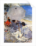 On the Beach, c.1900-05 by Charles Webster Hawthorne