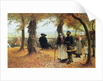 Bringing the Ex-voto to the Church, 1875 by William John Hennessy