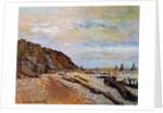 Boatyard near Honfleur, 1864 by Claude Monet