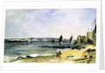 The Sea Shore, Arcachon, 1871 by Edouard Manet