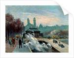 The Trocadero, Paris, 1917 by Maximilien Luce