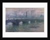 Waterloo Bridge, 1901 by Claude Monet