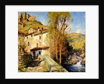 Old Mill at Pelago, Italy, 1913 by Willard Leroy Metcalf