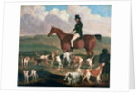 Tom Llewelyn Brewer on his Horse, 'The Doctor', c.1845 by James Flewitt Mullock