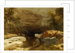 Landscape, Porth-yr-ogof, Vale of Neath by James Baker Pyne