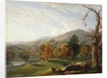 View Among the Helderbergs, Catskills in the Distance, 1850 by James McDougal Hart