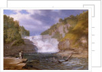 Trenton High Falls, 1835 by William James Bennett