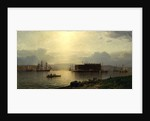 The Narrows and Fort Lafayette, Ships Coming Into Port, New York Harbor, 1868 by Samuel Colman