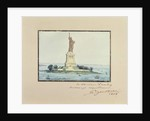 Statue of Liberty, Beldoe Island, New York City, 1888 by Frederic Auguste Bartholdi