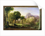 Study for Dream of Arcadia, 1838 by Thomas Cole