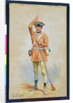 Uniforms of the American Revolution: 1777 Private Field Dress from the 1st Georgia Continental Infantry by Charles MacKubin Lefferts