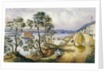 Staten Island and the Narrows from Fort Hamilton, NY, c.1861 by Frances Flora Bond Palmer