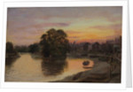 Kew at Sunset - Paton's property by James Lewis
