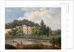 Alexander Pope's House and Earl Ferrer's House, Twickenham, Middlesex by English School