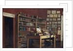 Corner of Sir Richard Burton's Study, 1889 by Albert Letchford