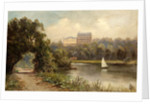 The Star and Garter from the Twickenham bank by James Lewis