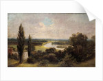 View down over Ham fields from top of Richmond Hill by James Lewis