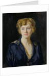 Portrait of a Fair-Haired Woman by Reginald-Grenville Eves