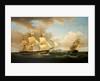 Shipping scene by Thomas Whitcombe