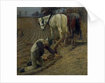The Last Furrow, 1895 by Henry Herbert La Thangue