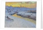 Stream in Winter by Marc Aurele de Roy Suzor-Cote