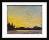 Round Lake, Mud Bay, 1915 by Thomas John Thomson
