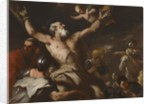 The Crucifixion of Saint Andrew, c.1660 by Luca Giordano