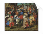 The Peasants' Wedding by Pieter the Younger Brueghel