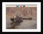 Seine Fishing, 1913 by Henry Meynell Rheam