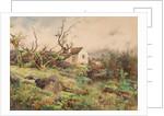 Village and Blackthorn, Humberston by John Guttridge Sykes