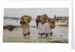 The Breadwinners, or Newlyn Fishwives by Walter Langley