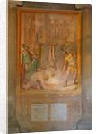 Martyrdom of a saint: burnt alive upside down by Cristoforo & Tempesta Antonio Roncalli
