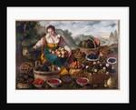 Fruit seller, 1578-81 by Vincenzo Campi