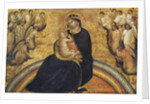 Madonna with Child and Angels, 1370-77 by Giovanni da Bologna
