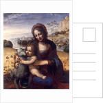 Madonna and Child with a Lamb, 1502-05 by Leonardo da Vinci