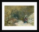 The Fountain of the Virgin, Jerusalem, 1869 by William 'Crimea' Simpson
