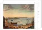 Launching of the Ship 'Fame', 1802 by George Ropes