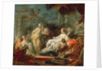 Psyche showing her sisters her gifts from Cupid, 1753 by Jean-Honore Fragonard