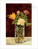 Roses and Tulips in a Vase, 1883 by Edouard Manet
