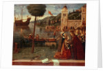 St.Ursula taking leave of her father, c.1500 by Vittore Carpaccio