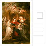 St. Ildefonso Altarpiece by Peter Paul Rubens