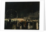 Outside the Big Tent, 1912 by George Wesley Bellows