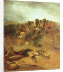 The Battle of Waterloo, 18th June 1815 by Nicolas Toussaint Charlet