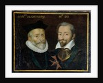 Portrait of Philippe Hurault Count of Cheverny and Francois Marquis of O, 1617-38 by French School